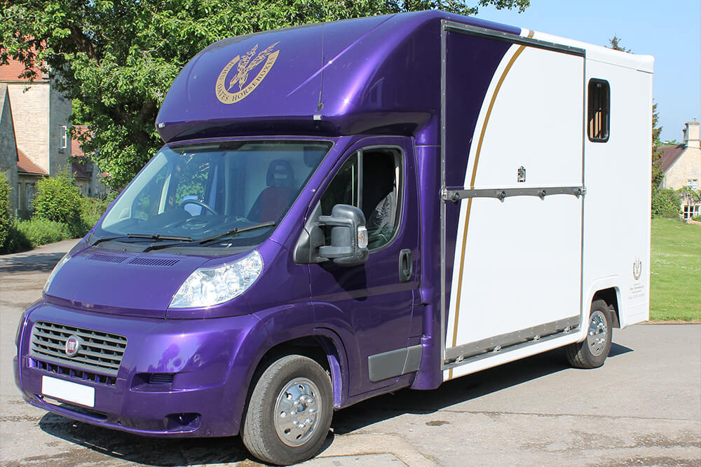 bespoke built horsebox