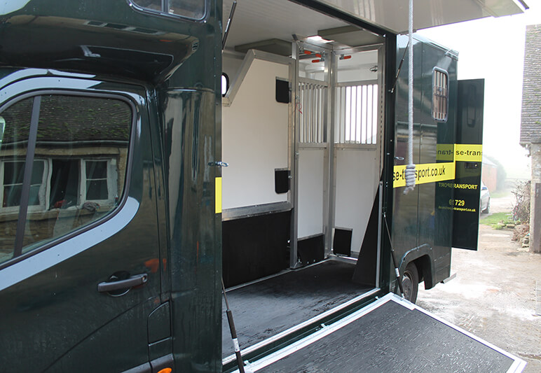 Driven Horse Transport and self drive hire horseboxes